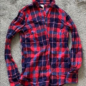 J.Crew Button Down Plaid Shirt